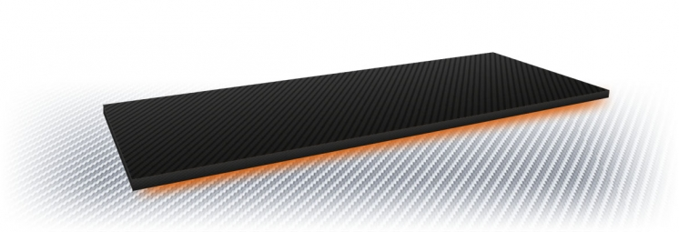 Carbon fiber cover for tool boxes
